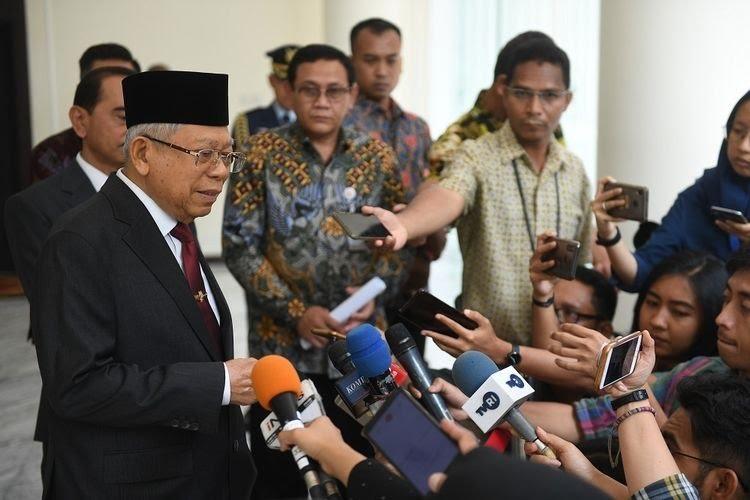 Ailing Ma'ruf pulls out of Malaysian summit